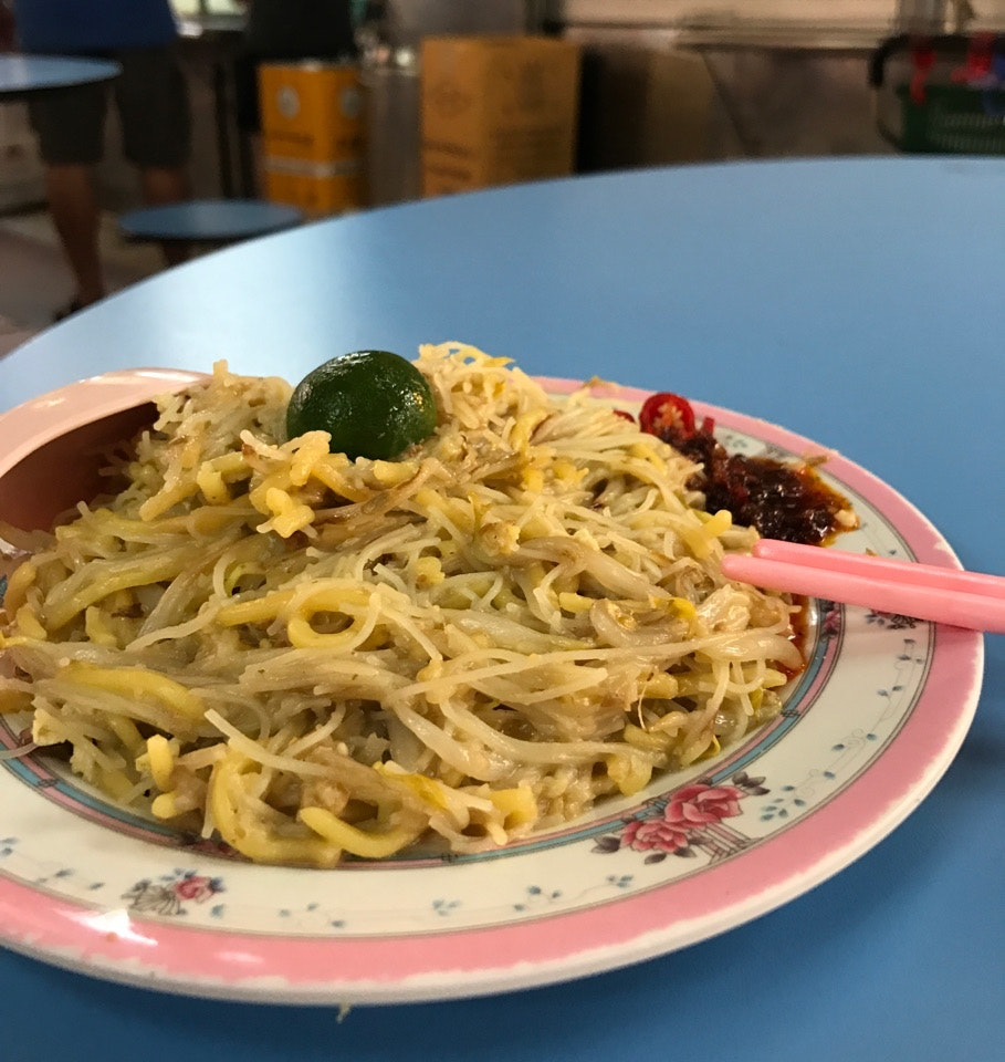 Hainan Fried Hokkien Prawn Mee 海南福建炒虾面 (Golden Mile Food Centre)