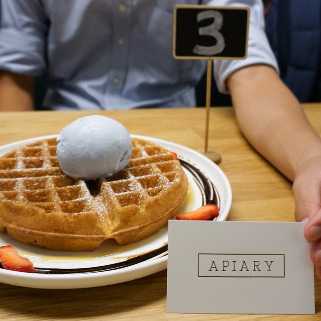 [$5] Waffle + [$3.90] Ice Cream