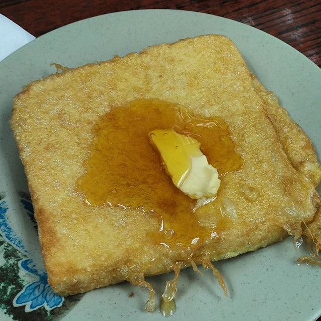Kick ass kaya french toast (HKD 24) for breakfast