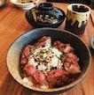 Saga Beef Rice Bowl