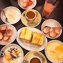 Soft boiled eggs, Crispy butter-kaya toast & Kopi (coffee) done to your liking.