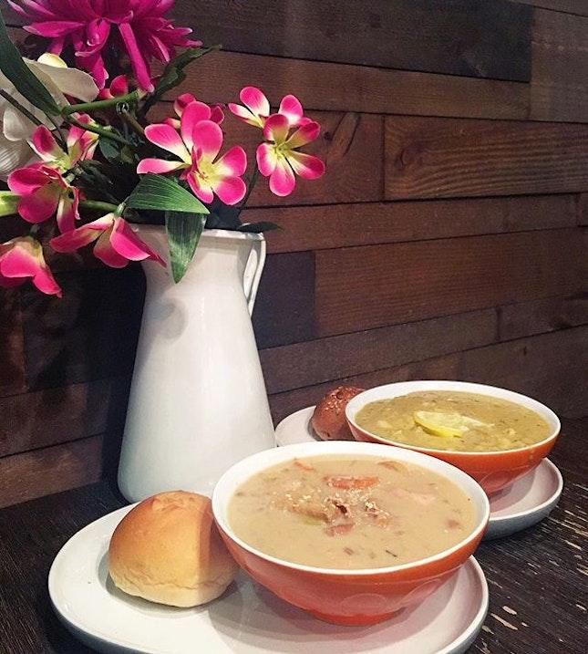 Soup is a lot like a family.