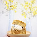 Osmanthus Black Sugar Chiffon Cake (HKD50) Soft spongy light chiffon with a slight pleasant tinge of osmanthus, don't think I'll ever get tired of this.