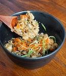 Szechuan Yakitori & Unagi Fried Rice?!