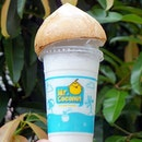 Coconut Shake ($3.90) Beat the heat with a refreshing treat!