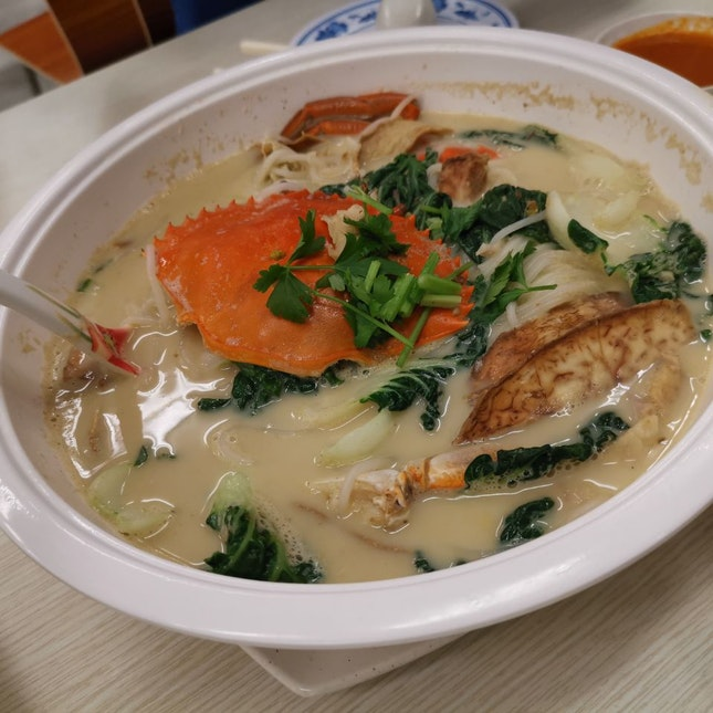 Crab Beehoon Soup