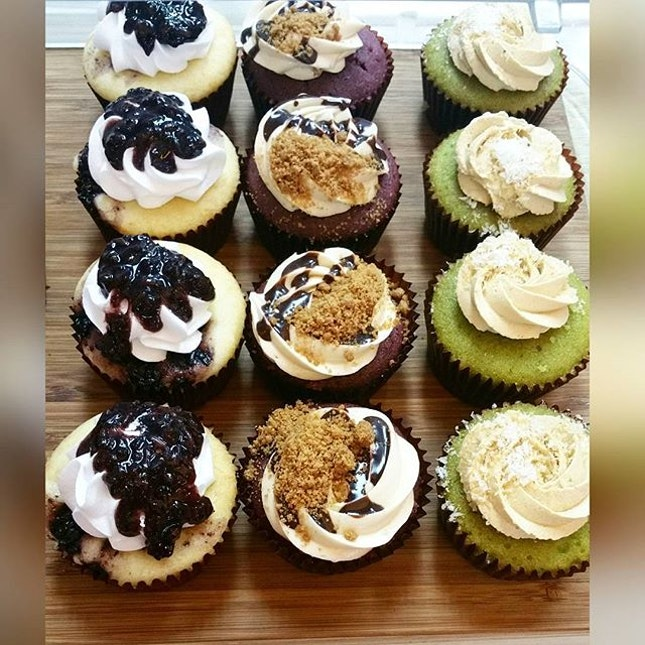 Cupcakes infused with different flavors.