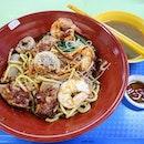 The Old Stall Hokkien Street Famous Hokkien Prawn Mee (Hong Lim Market & Food Centre)