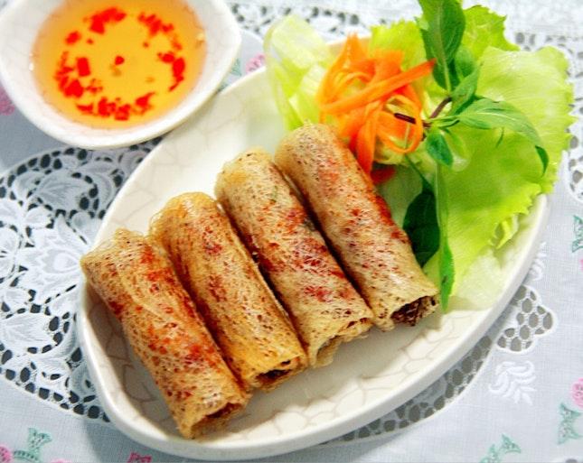 Viet Fried Spring Rolls