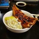 Nothing can beat a good unagi bowl!