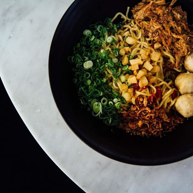 Spicy mee - and spicy it is!