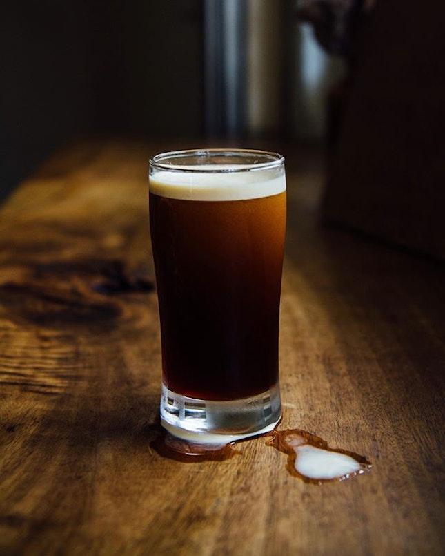 Nitro coffee - Where beer meets coffee Was kinda flat tasting though.