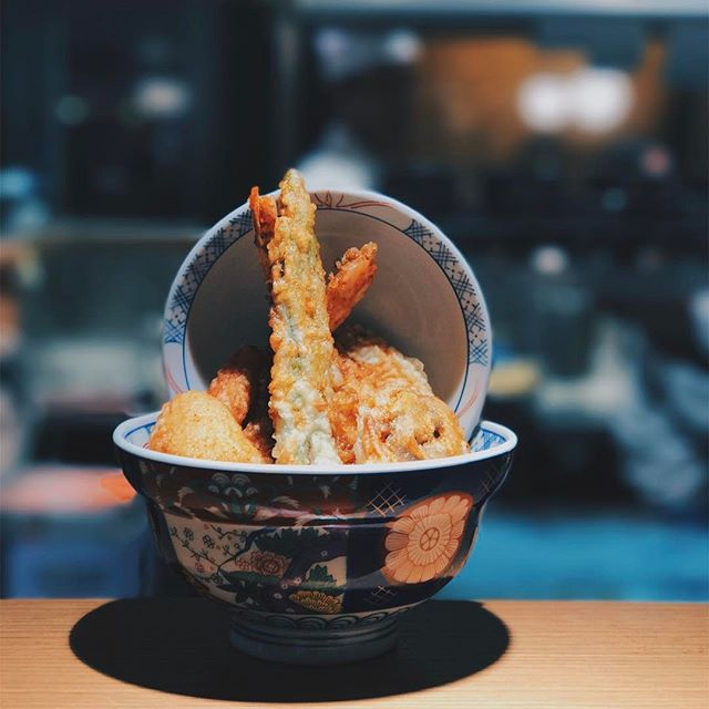 1.5 hours for Tendon - Verdict: the tempura itself was great!