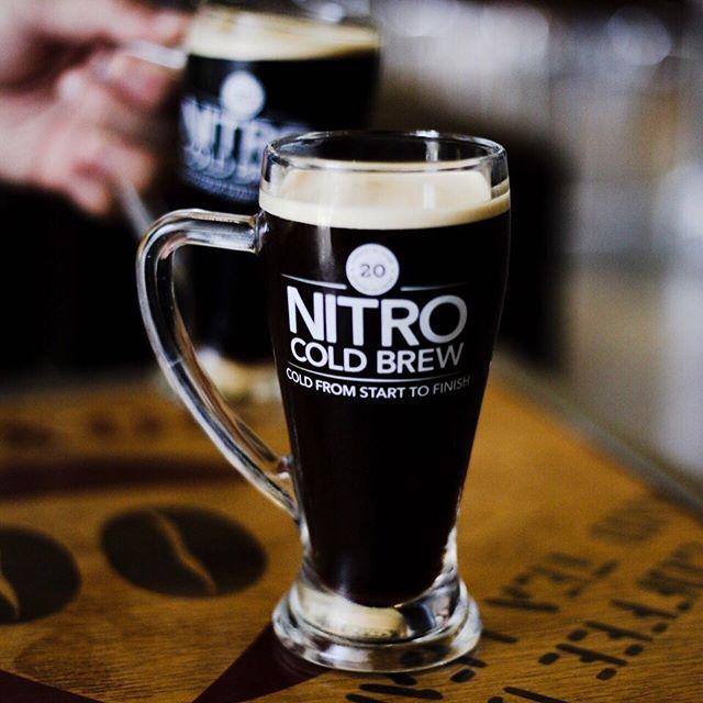 Coffeebean's Cold brew nitro - smooth, potent and delicious.