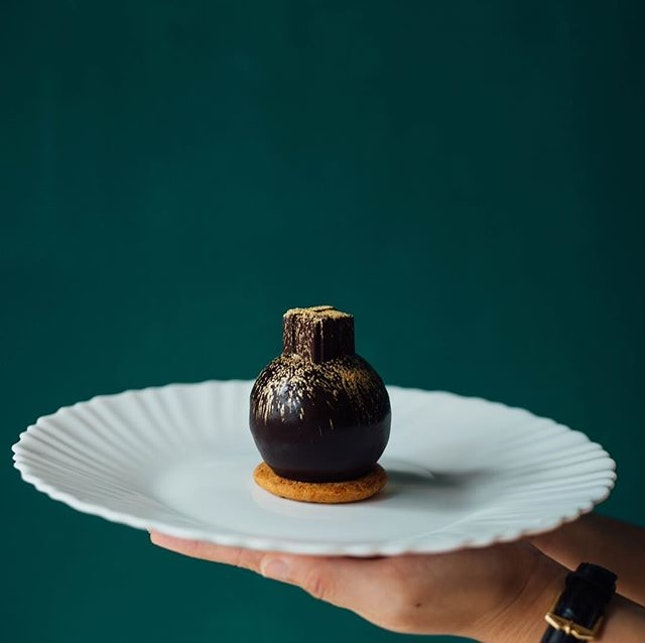 There's something about creamy black chocolate balls that draw us back, time and time again.