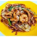 Hokkien Mee (MYR $9.50) @ Restoran Win Heng Seng, Fatt Kee stall.