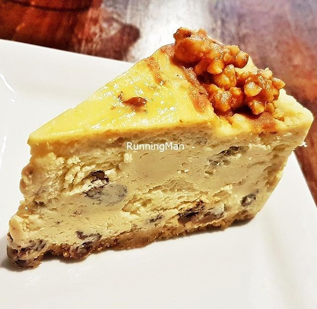 Rum & Raisin Cheesecake (SGD $6.90) @ East Manhattan Bakery Cafe.