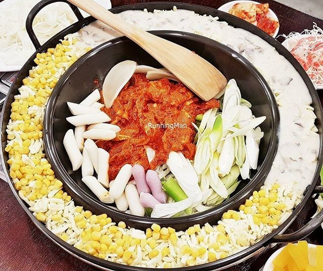 Cheesy Duet Chicken Galbi (SGD $59.90) @ Yoogane [Invited tasting].