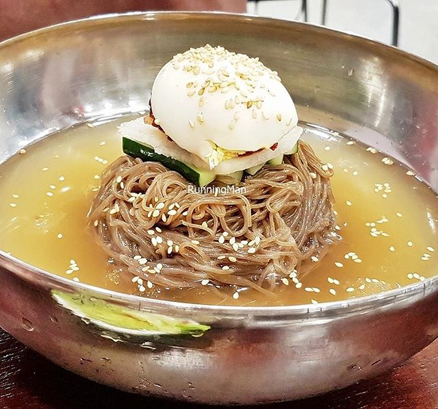 Naengmyeon / Cold Buckwheat Noodles (SGD $11.90) @ Yoogane [Invited tasting].