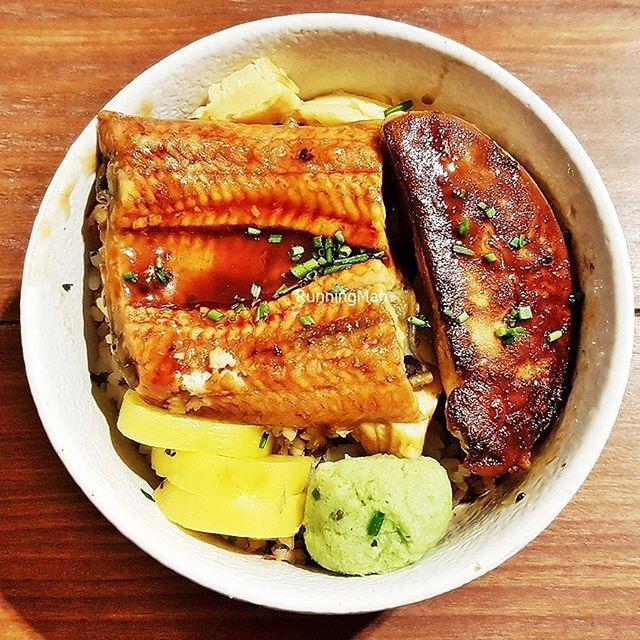Unagi Foie Gras Donburi (SGD $23.90) @ Tanuki Raw.
