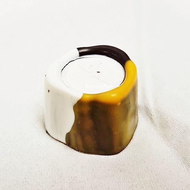 Bonbon - Singapore Signature Series #6 - Salted Egg (SGD $3 per piece) @ Janice Wong Confectionery Boutique.