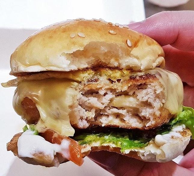 Chicken Slider (SGD $4.80) @ BurgerUP Express.
