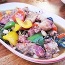 Krapow Neua / Stir-Fried Sliced Beef With Holy Basil (SGD $22) @ Little Elephant Thai Bistro.