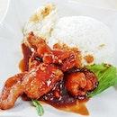 Pork Rib King With Rice & Egg (SGD $5) @ T.K.