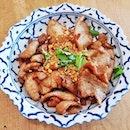 Deep-Fried Garlic Pork (SGD $8) @ Soi Thai Kitchen.