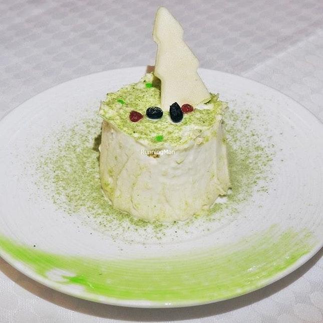 Japanese Cheese Log Cake @ Element Restaurant.
