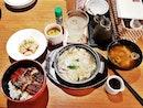Unagi Don And Pork Yanagawa Nabe Set (SGD $29.80) @ Sun With Moon.