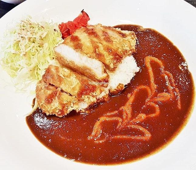 Pork Katsu Curry (SGD $13.80) @ Monster Curry.