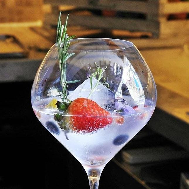 Gin And Tonic (SGD $16) @ Kafe Utu.