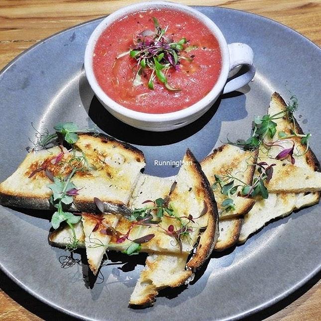 Marinated Roma Tomatoes Soup (SGD $16) @ Kafe Utu.