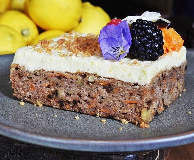 Carrot Cake (SGD $8) @ Kafe Utu.