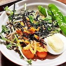 Chilled Soba With Mushroom Salad (SGD $5.10) @ The Soup Spoon Union.