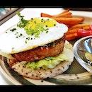 Pork Sausage Onigiri (SGD $24) @ Halcyon & Crane.