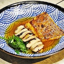 Miso Grilled Halibut (SGD $20.80) @ NUDE Seafood.