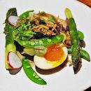 Grilled Romaine Lettuce & Vegetables (SGD $14) @ 51 Soho.