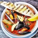 Seafood Bouillabaisse (SGD $16) @ FrapasBar.