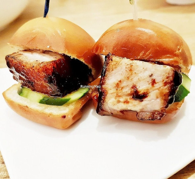 Signature Char Siew In Fried Mantou (SGD $5 for 2 pieces) @ One Bowl Restaurant & Bar.