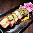 Pork Belly (SGD $10) @ Wine Mansion.