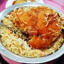 Chicken Briyani (SGD $6.50) @ Zam Zam Restaurant.