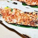Kuruma Ebi Mentaiyaki (SGD $18) @ Botan Japanese Restaurant.