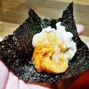Uni & Hotate Temaki @ Mai By Dashi Master Marusaya.