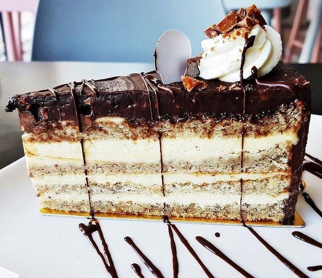Daim Cake (SGD $6.90 ) @ Three's A Crowd.