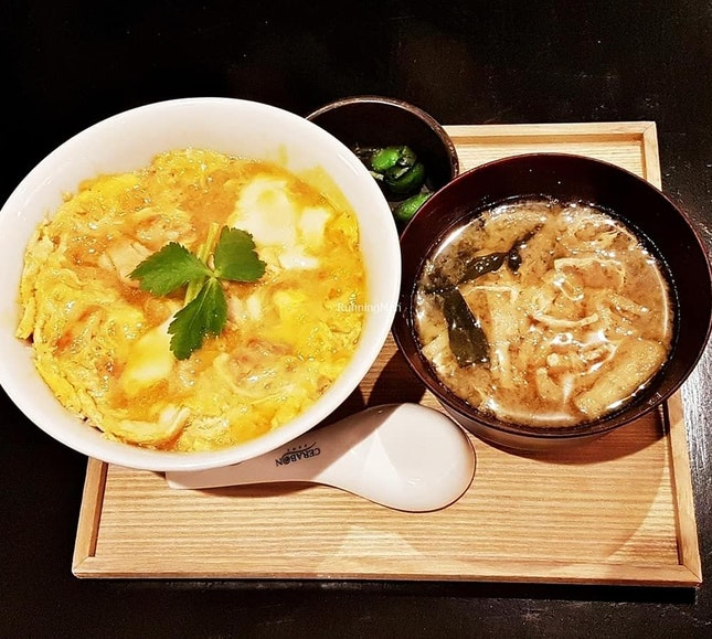Oyako Donburi (SGD $23) @ Suju Masayuki.