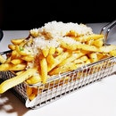 Truffle Shoestring Fries (SGD $12) @ Cavemen Restaurant & Bar.