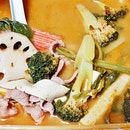 Mala Soup (SGD $15.50 for 538g) @ Gong Yuan Ma La Tang.