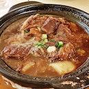 Stewed Beef Brisket With Daikon Radish (SGD $19.80) @ Shang Social.